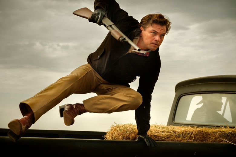 """This image released by Sony Pictures shows Leonardo DiCaprio in Quentin Tarantino's """"Once Upon a Time … in Hollywood.""""  Tarantino's film is heading back into theaters with an extra 10 minutes of added scenes. Sony Pictures said Wednesday that the longer """"Once Upon a Time … in Hollywood"""" will play in more than 1,000 theaters in the U.S. and Canada beginning Friday. The new running time will push the 1969 Los Angeles fable to nearly three hours. (Andrew Cooper/Sony-Columbia Pictures via AP)"""
