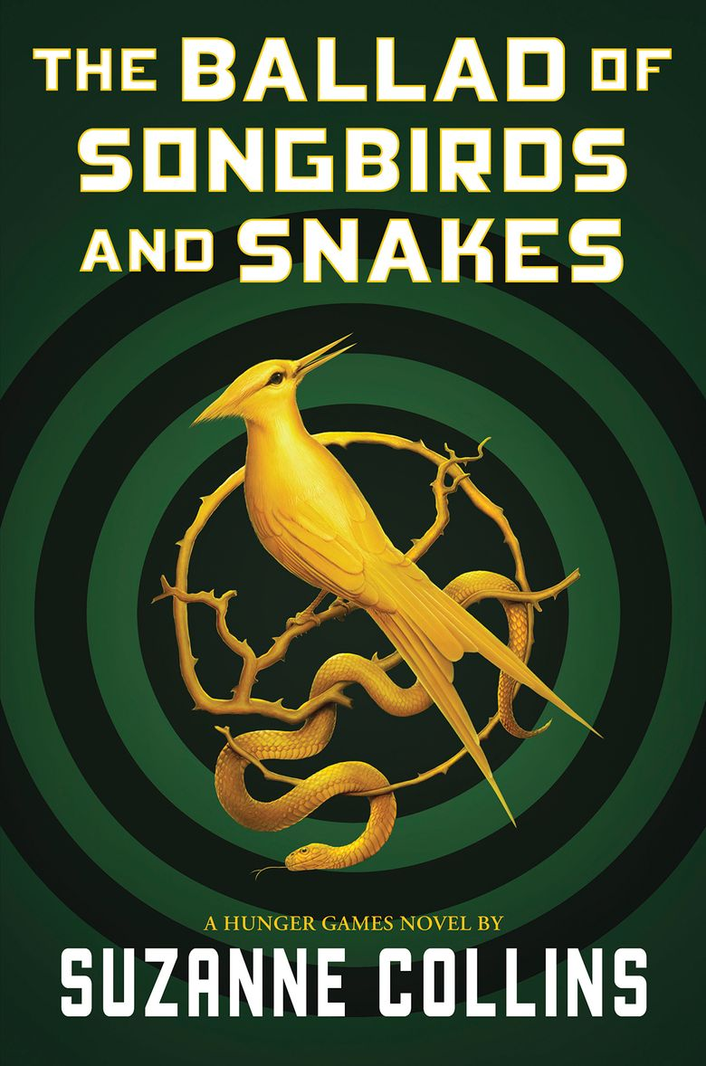 """This cover image released by Scholastic shows """"The Ballad of Songbirds and Snakes,"""" a Hunger Games novel by Suzanne Collins, to be published on May 19. (Scholastic via AP)"""