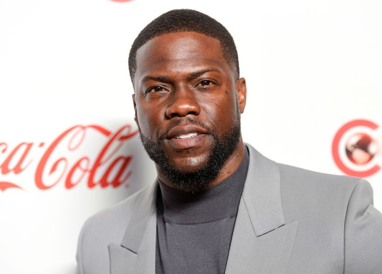 """FILE – In this April 4, 2019 file photo, Kevin Hart poses for photos at the Big Screen Achievement Awards at Caesars Palace in Las Vegas. Hart says his """"world was forever changed"""" after he suffered a serious back injury when the vintage muscle car he was riding in crashed nearly two months ago in California. In a video posted Tuesday night, Oct. 29 on Instagram, the 40-year-old thanked his family and friends and reflected on how he sees life differently.(Photo by Chris Pizzello/Invision/AP, File)"""