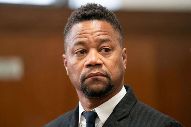 FILE – This Oct. 10, 2019 file photo shows Cuba Gooding Jr. in a courtroom in New York. Gooding Jr. faces new charges in his sexual misconduct case. The actor's lawyer says he's due in a New York City court on Thursday, Oct. 31, for arraignment on an updated misdemeanor indictment. (Steven Hirsch/New York Post via AP, Pool)