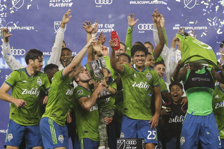 If you haven't heard, the MLS Cup is coming to CenturyLink Field on Nov. 10. (Ringo H.W. Chiu / The Associated Press)