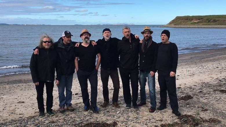 La Nef includes, from left, David Gossage, Andrew Horton, Seán Dagher, Nils Brown, Michiel Schrey, Clayton Kennedy and Nelson Carter. (Courtesy of Seán Dagher)