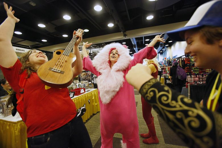 This year's GeekGirlCon will be Nov. 16-17 at The Conference Center, across the street from the Washington State Convention Center. (Sy Bean / The Seattle Times, 2015)