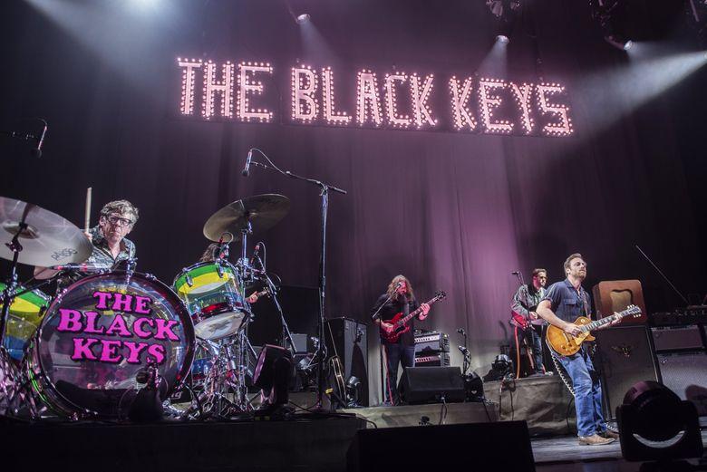 The Black Keys at the Tacoma Dome on Saturday (David Endicott)