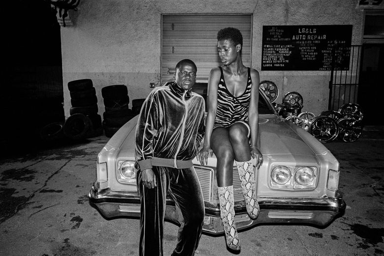 """Daniel Kaluuya and Jodie Turner-Smith star in """"Queen & Slim."""" (Andre D. Wagner / Universal Pictures)"""