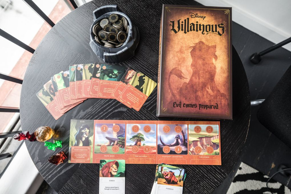 Disney Villainous, named Game of the Year at The Toy Foundation's 2019 Toy of the Year Awards, is the latest hit from Seattle-based Ravensburger North America. (Steve Ringman / The Seattle Times)