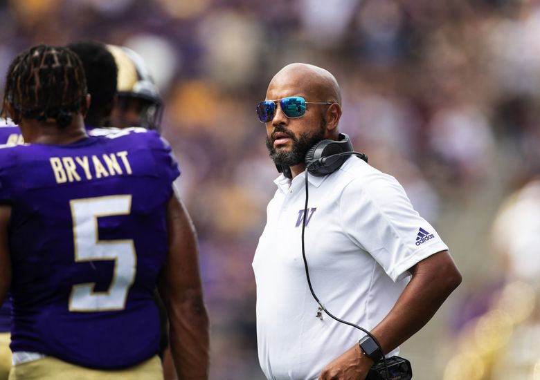 Under Jimmy Lake, the Huskies won't be afraid to pursue five-star prospects. We'll see soon enough if they can reel them in. (Dean Rutz / The Seattle Times)