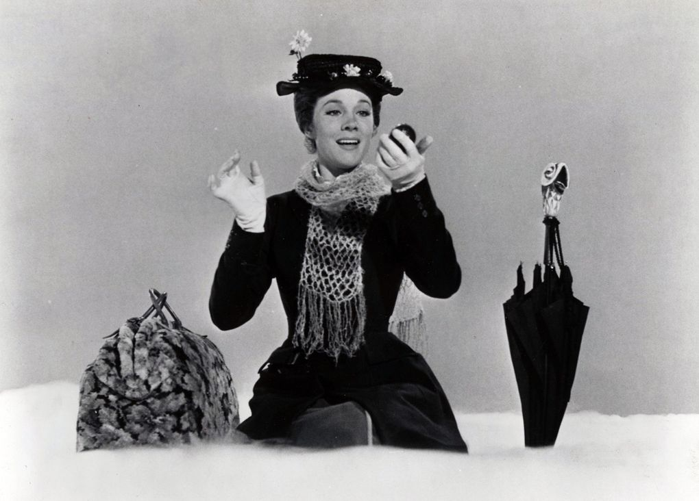 """Julie Andrews, of """"Mary Poppins"""" fame, leaves readers wanting more with her latest memoir. (Walt Disney Productions)"""