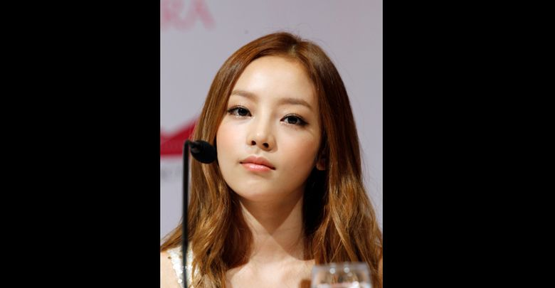 FILE  – In this Tuesday, July 10, 2012 file photo, South Korea's pop girl group KARA's Goo Hara attends a press conference in Singapore. South Korean police say pop star Goo Hara has been found dead at her home in Seoul. Police say an acquaintance found the 28-year-old dead at her home in southern Seoul on Sunday, Nov. 24, 2019 and reported it to authorities. (AP Photo/Wong Maye-E, File)
