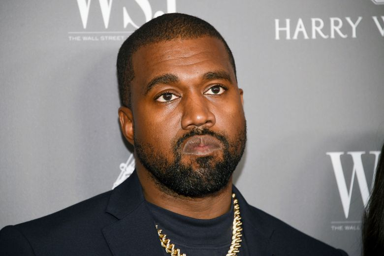 File – In this Nov. 6, 2019, file photo, Kanye West attends the WSJ. Magazine 2019 Innovator Awards at the Museum of Modern Art in New York. Officials in Wyoming have received a building permit application from Kanye West for a proposed amphitheater on property owned by the rapper. West recently announced that he plans to move the headquarters of his shoe and clothing company, Adidas Yeezy, to Cody. He also wants to build a 70,000-square-foot amphitheater on his 4,000-acre ranch. The Cody Enterprise reports the Park County Planning and Zoning Commission plans to discuss the proposal. (Photo by Evan Agostini/Invision/AP, File)
