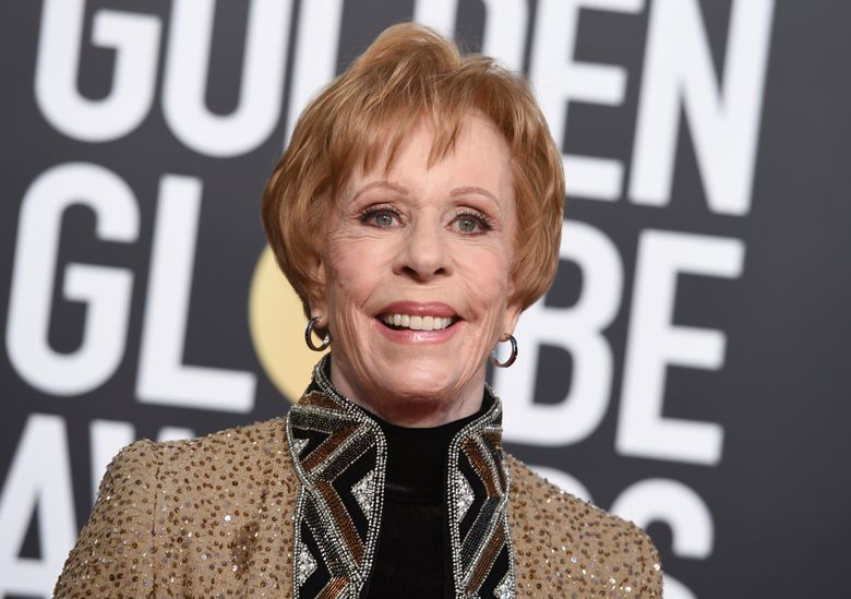 """FILE – This Jan. 6, 2019 file photo shows actress-comedian Carol Burnett at the 76th annual Golden Globe Awards in Beverly Hills, Calif. Burnett will be among the familiar faces gracing the """"Mad About You"""" revival. Sony Pictures Television announced Monday that Burnett will reprise her Emmy-winning role as the mother of Helen Hunt's character. Hunt and Paul Reiser play the Buchmans, a New York married couple, in the NBC series that aired 164 episodes before its finale in May 1999. The revival will focus on the Buchmans and their marriage after their daughter leaves for college. (Photo by Jordan Strauss/Invision/AP, File)"""