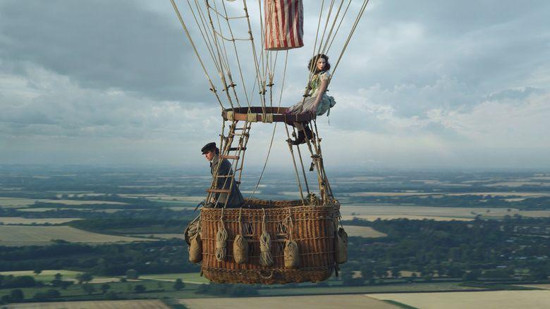 "Eddie Redmayne and Felicity Jones star in ""The Aeronauts."" (Courtesy of Amazon Studios)"