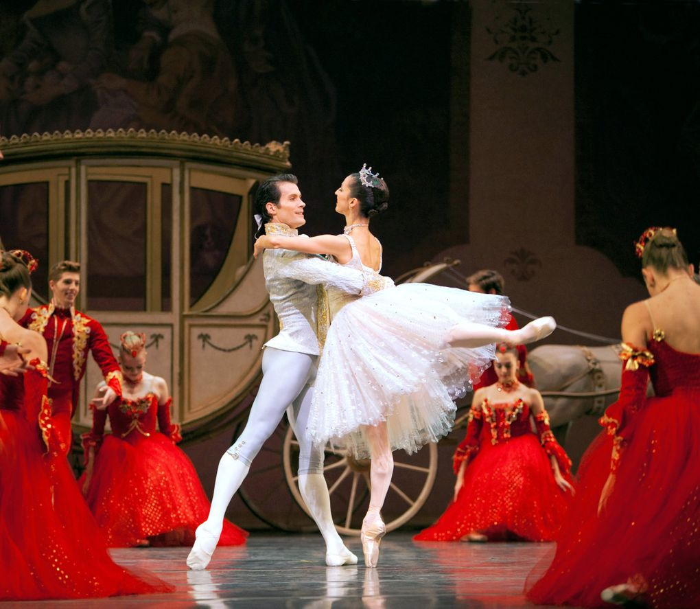 """Pacific Northwest Ballet's """"Cinderella,"""" last seen here in 2012, again graces the McCaw Hall stage Jan. 31-Feb. 9. (Angela Sterling)"""
