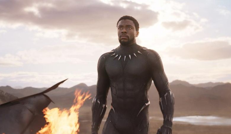 """Chadwick Boseman stars in Ryan Coogler's """"Black Panther,"""" part of the Marvel Cinematic Universe. (Courtesy of Marvel Studios)"""