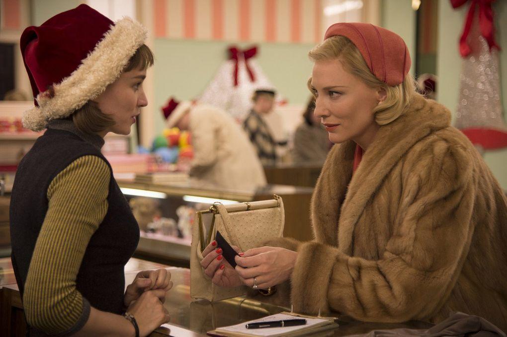 "Rooney Mara and Cate Blanchett star in Todd Haynes' ""Carol,"" Moira Macdonald's favorite film of 2015. (Wilson Webb)"