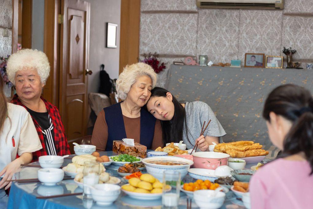 "Zhao Shuzhen and Awkwafina star in Lulu Wang's ""The Farewell."" (Casi Moss / A24)"