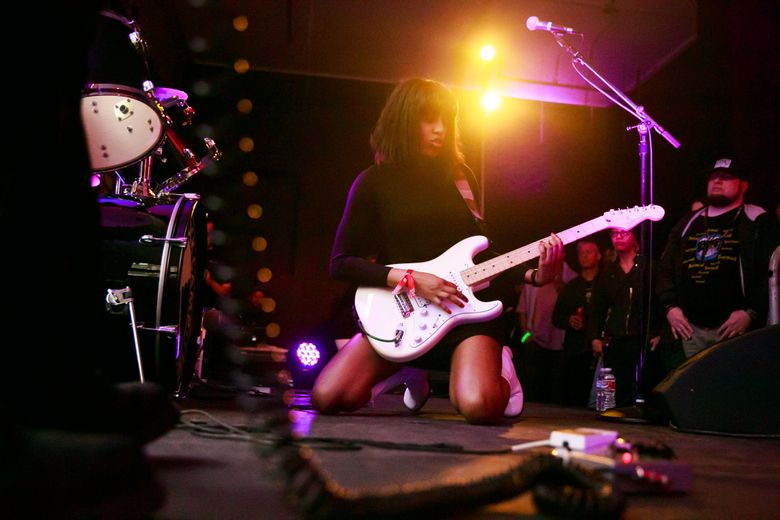 The Black Tones play at Neumos at 8 p.m. Friday, Dec. 27.  (Erika Schultz / The Seattle Times)