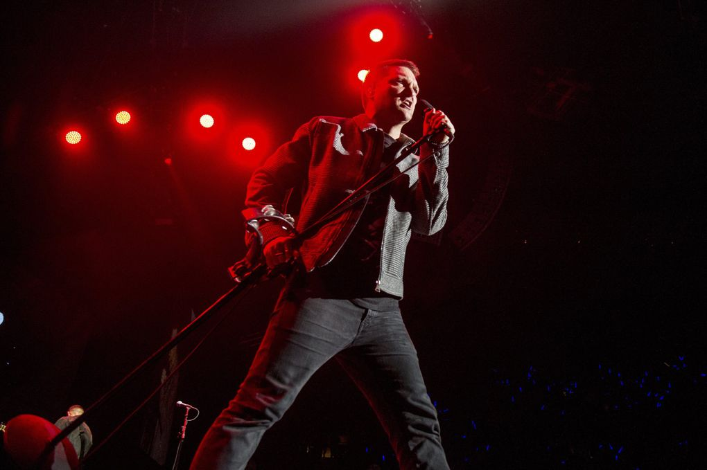 Cold War Kids, featuring Nathan Willett (shown performing at the 2017 KROQ Almost Acoustic Christmas at The Forum in Inglewood, California), comes to Neptune Theatre Jan. 17-18. (Amy Harris / Invision / AP)