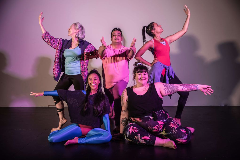 """""""Dance Nation,"""" coming to Washington Ensemble Theatre Jan. 17-Feb. 3, is about a young-teen competitive dance team and the brutality of early adolescence. (Willy Picton)"""