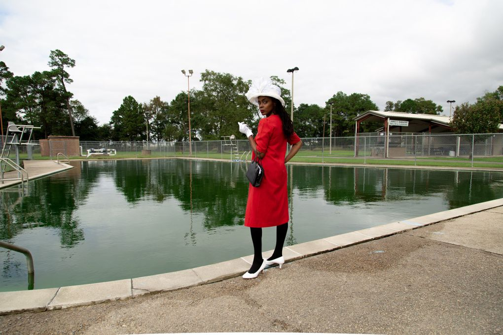 """Courtney Morris' """"Colored Swimming Pool"""" (2019) is part of Photographic Center Northwest's """"Exploring Passages Within the Black Diaspora"""" exhibit, running Jan. 16-March 22. (Courtesy of Courtney Morris and MFON: Women Photographers of the African Diaspora)"""
