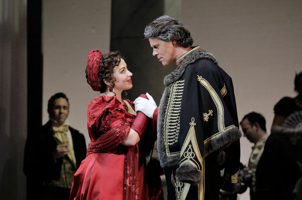 """Seattle Opera presents Tchaikovsky's """"Eugene Onegin"""" — shown here in Lyric Opera of Kansas City's 2017 production — from Jan. 11-25 at McCaw Hall. (Cory Weaver)"""