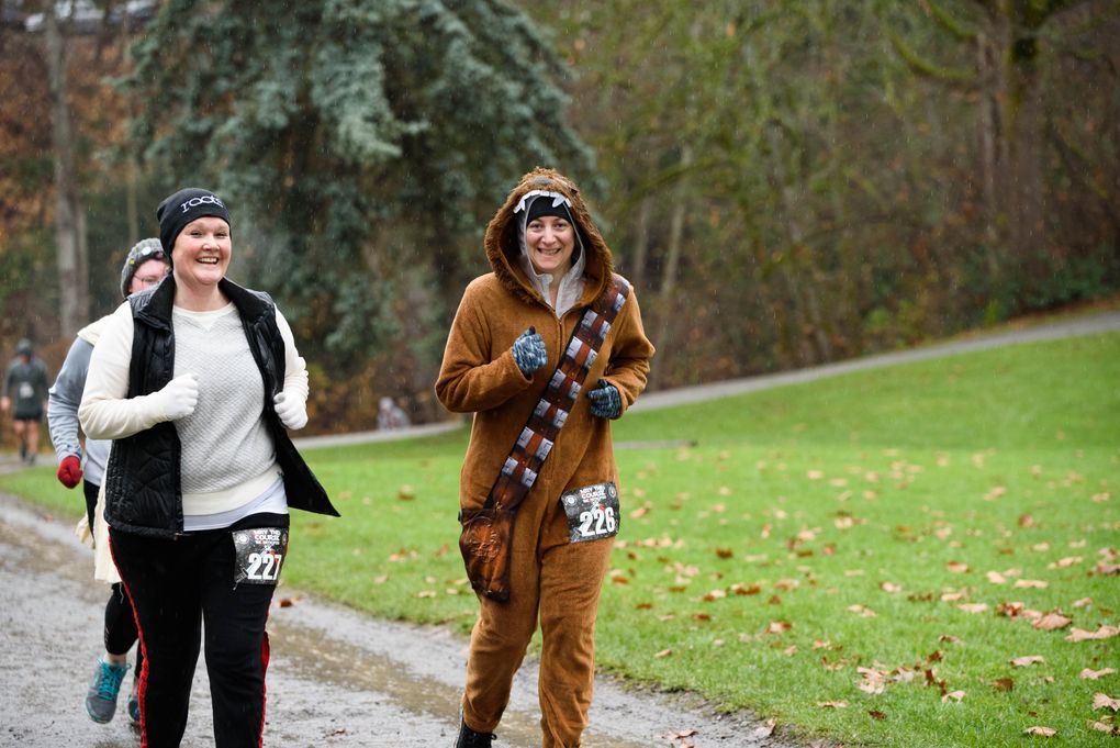 May the Course Be With You, Run 2 Be Fit's annual Star Wars-themed 5K at Greenlake, takes place Dec. 7. (Kris Reintegrado / Run 2 Be Fit)