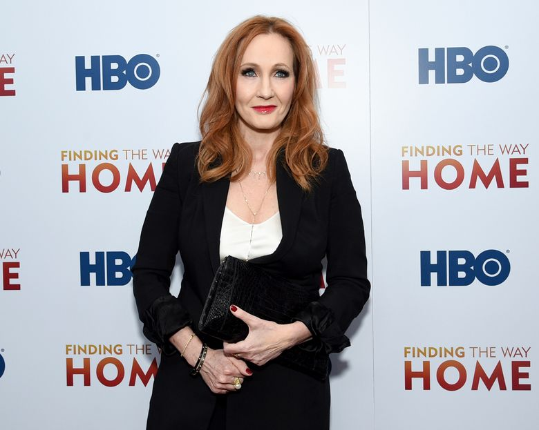 """FILE – In this Dec. 11, 2019 file photo, author J.K. Rowling attends the HBO Documentary Films premiere of """"Finding the Way Home"""" in New York. Rowling is facing widespread criticism from the transgender community and other activists after tweeting support for a researcher who lost her job for stating that people cannot change their biological sex.  (Photo by Evan Agostini/Invision/AP, File)"""