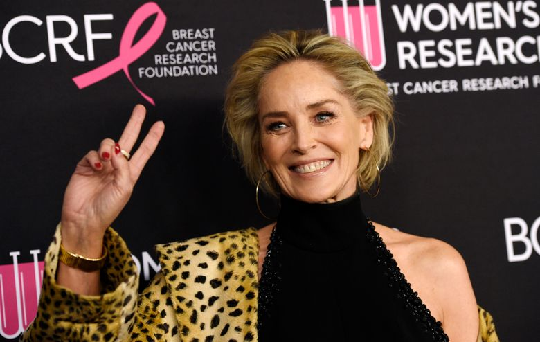 """FILE – In this Feb. 28, 2019, file photo, actress Sharon Stone poses at the 2019 """"An Unforgettable Evening"""" benefiting the Women's Cancer Research Fund, at the Beverly Wilshire Hotel in Beverly Hills, Calif. Bumble said Monday, Dec. 30, it has restored the profile of Stone after she was """"mistakenly"""" blocked from interacting on the dating app. A Bumble spokesperson said in a statement that the company apologized for the confusion. (Photo by Chris Pizzello/Invision/AP, File)"""