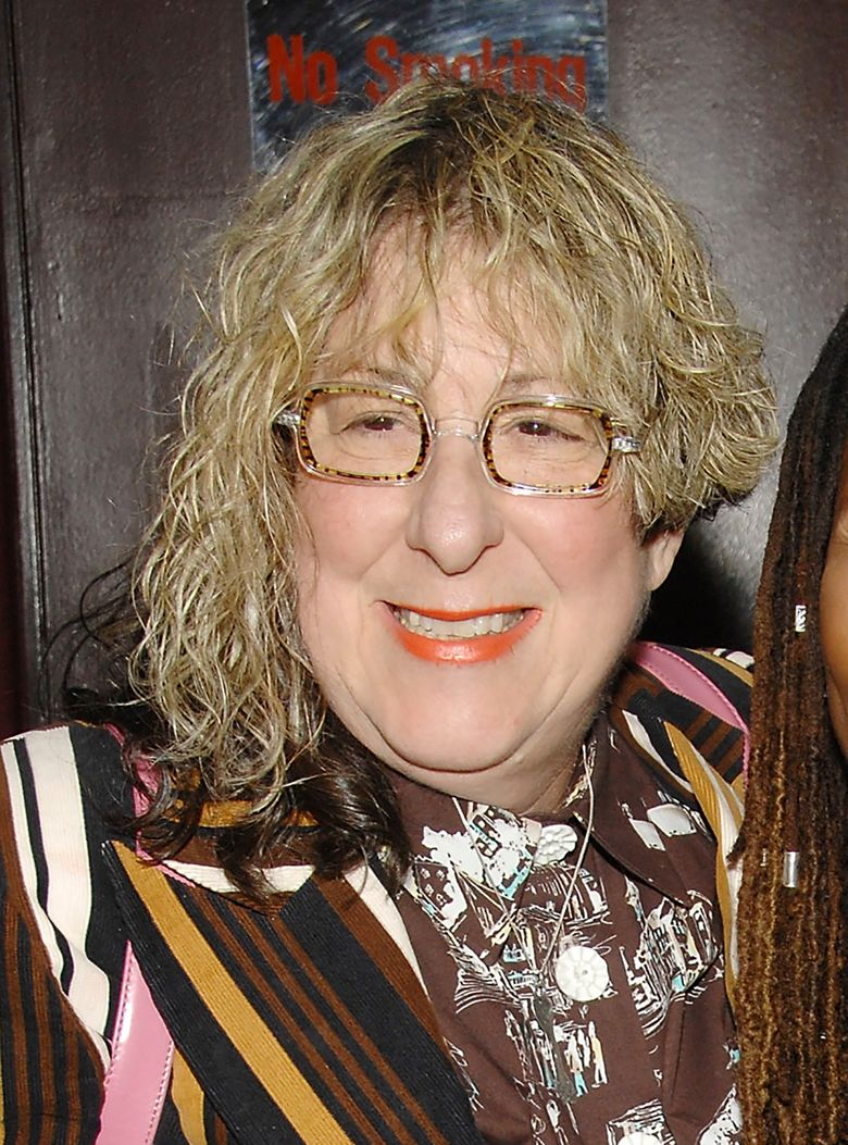 """Allee Willis, a composer and songwriter whose work included the Broadway musical """"The Color Purple"""" as well as Earth, Wind & Fire's """"September"""" and the """"Friends"""" theme song, has died. She was 72. (AP Photo/Evan Agostini,File)"""