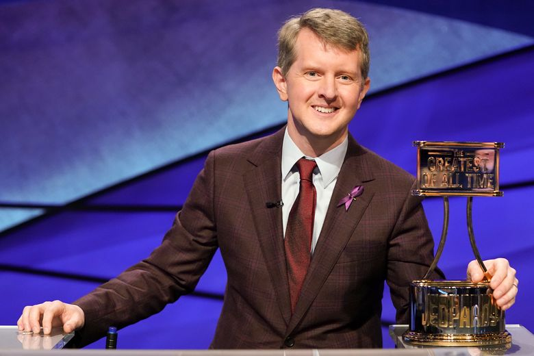 """""""Jeopardy! The Greatest of All Time"""" winner and notable Seattleite Ken Jennings shares his literary picks. (Eric McCandless / ABC)"""