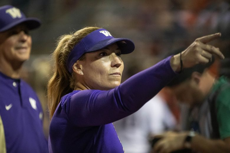 Heather Tarr has led the No. 2 Huskies to a 23-2 start. (Dean Rutz / The Seattle Times)