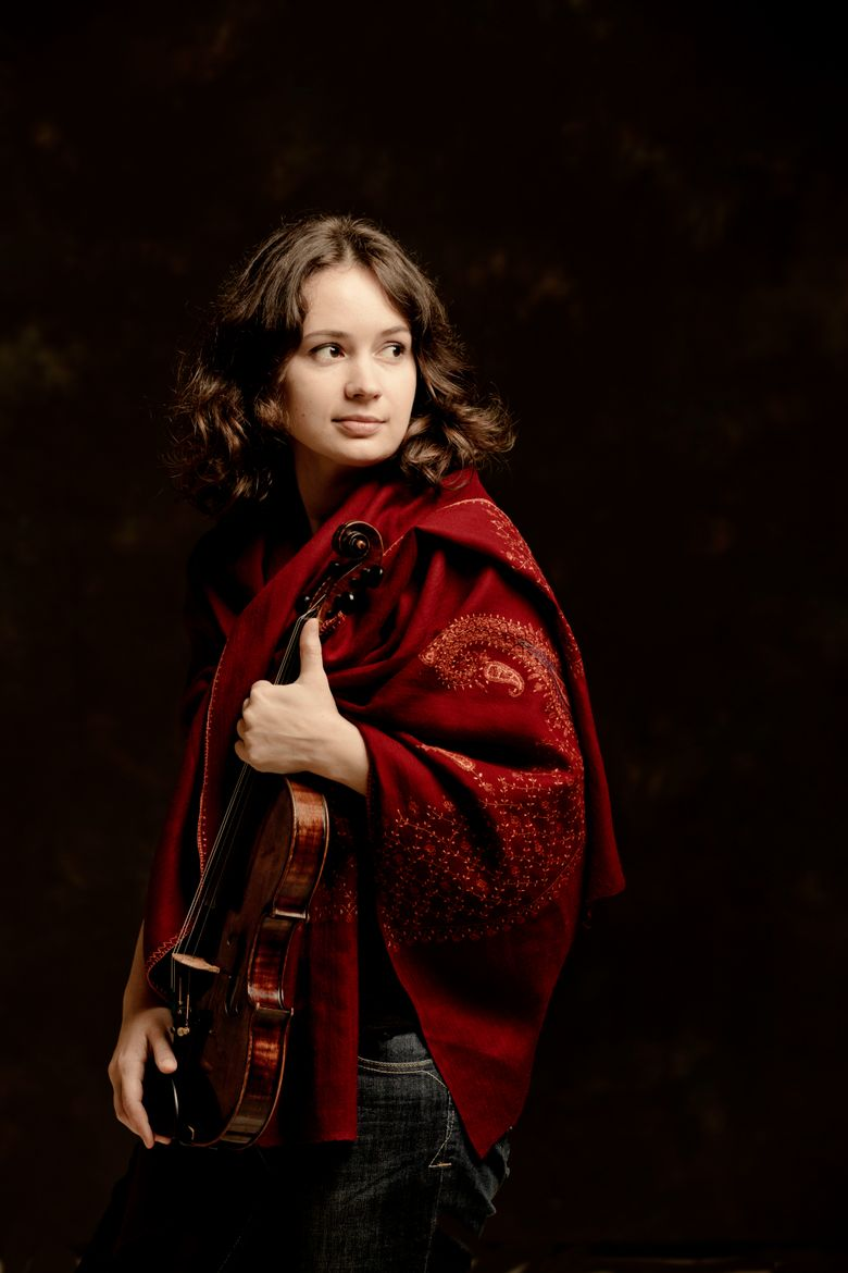 Violinist Patricia Kopatchinskaja returns to Seattle for concerts on Jan. 29-30 and Feb. 1. (Marco Borggreve)