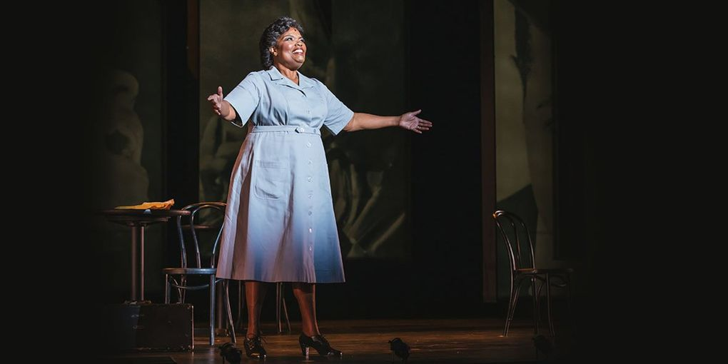 """Angela Brown as Charlie Parker's mother, Addie Parker, in Seattle Opera's """"Charlie Parker's Yardbird."""" (Sunny Martini)"""