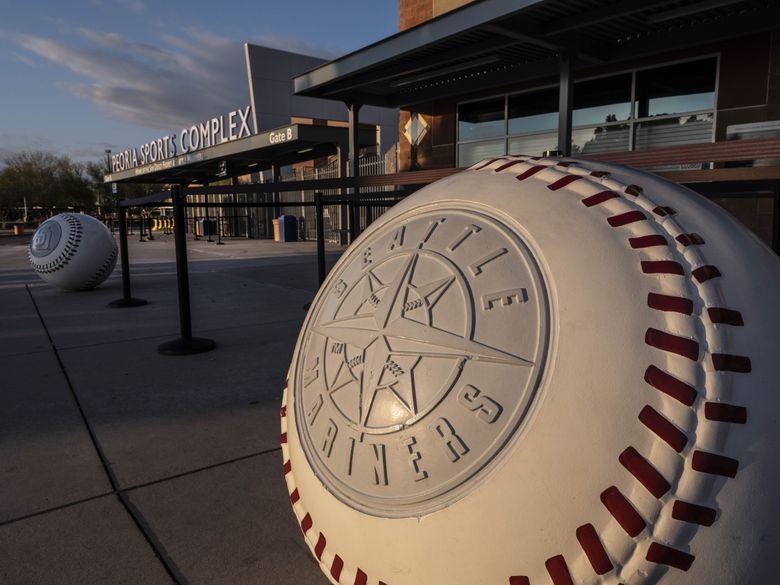 Peoria Sports Complex, where the Mariners hold spring training. On Friday, MLB announced it was canceling all spring training activities immediately and players can either stay at spring training, travel home or travel to their club's home city. (Dean Rutz / The Seattle Times)