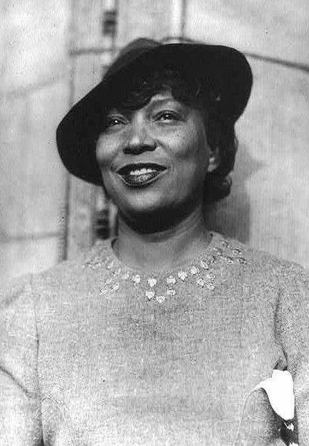 Iconic Black writer Zora Neale Hurston smiles in this undated photo. (Tribune News Service)