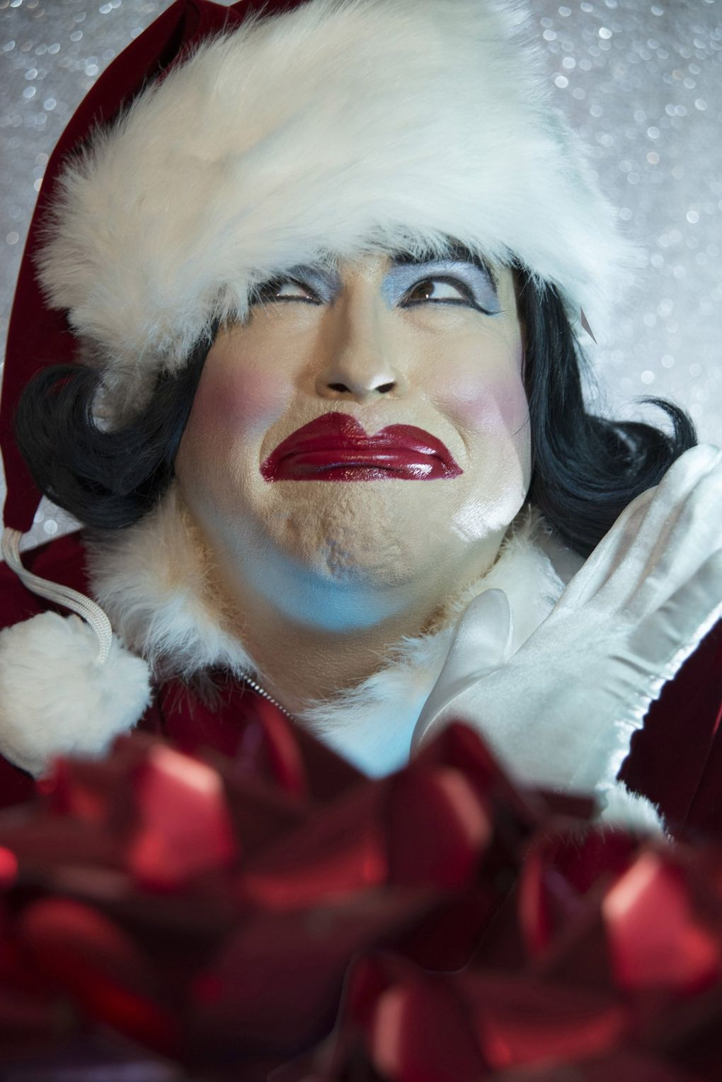 Dina Martina's Christmas shows were a tradition at Re-bar before the shows ascended to bigger stages like ACT Theatre. (David Belisle)