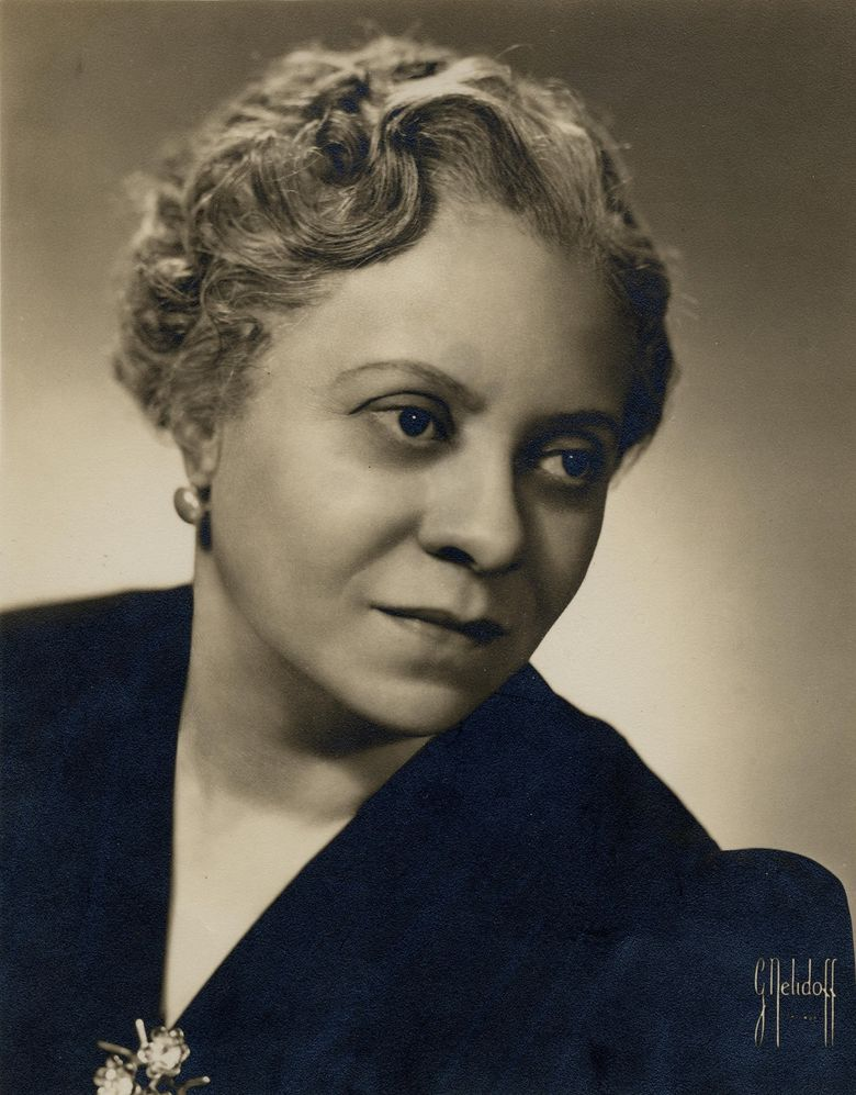 Composer Florence Price (University of Arkansas Libraries Special Collections)
