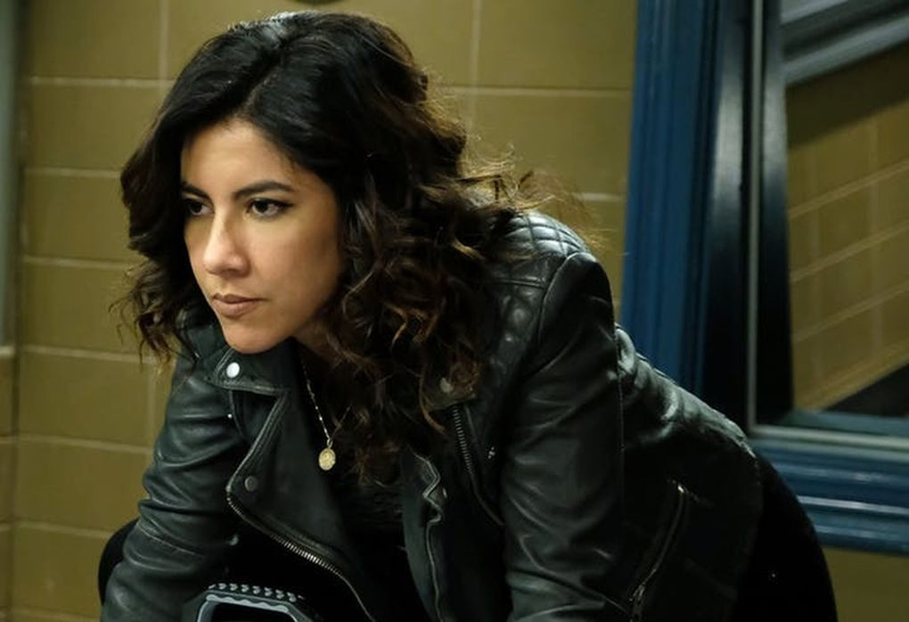 "Stephanie Beatriz as Rosa Diaz in ""Brooklyn Nine-Nine."" (John P. Fleenor / Star Tribune)"