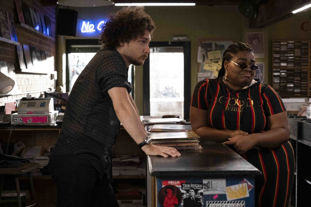 """Supporting actors David H. Holmes and Da'Vine Joy Randolph steal the show in """"High Fidelity."""" (Phillip Caruso /Hulu / TNS)"""