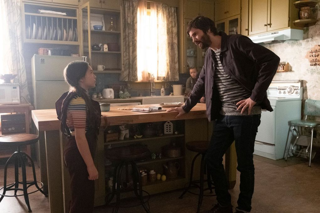 """Brooklynn Prince and Jim Sturgess in """"Home Before Dark,"""" premiering April 3 on Apple TV+. (Courtesy of Apple TV+)"""