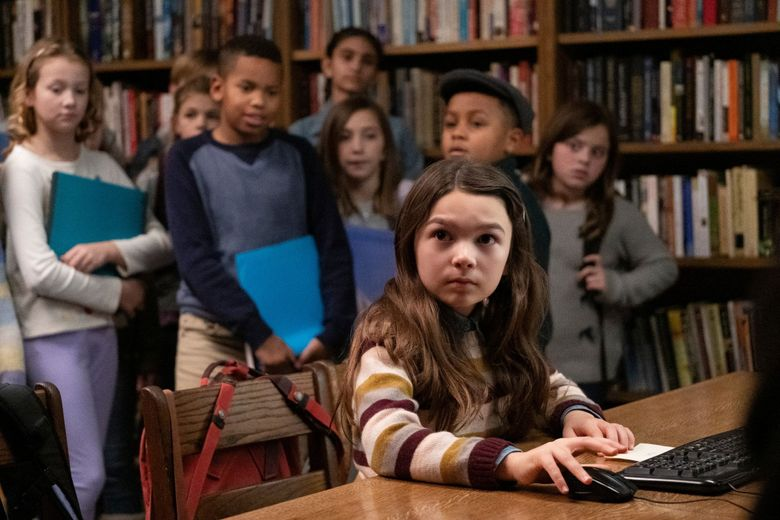 """Brooklynn Prince and the cast of """"Home Before Dark,"""" premiering April 3 on Apple TV+. (Courtesy of Apple TV+)"""