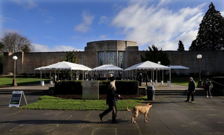 As of Thursday afternoon, Seattle Asian Art Museum, along with several other museums in the area, have closed due to coronavirus concerns. (Alan Berner / The Seattle Times)