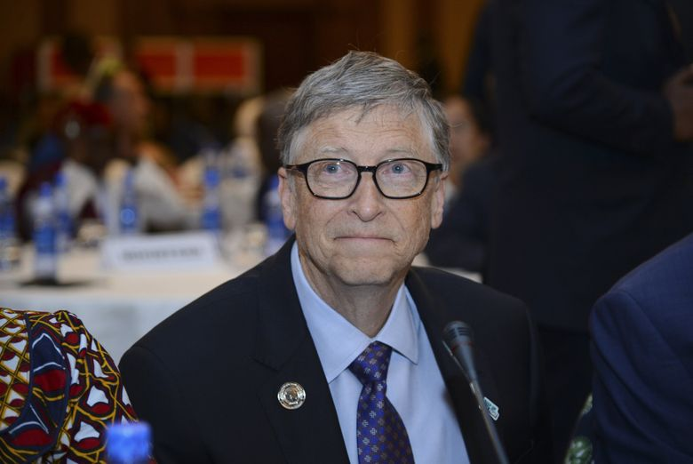 """Microsoft co-founder Bill Gates is criticizing President Donald Trump's decision to suspend funding to the World Health Organization as """"dangerous."""" (Samuel Habtab / The Associated Press, file)"""