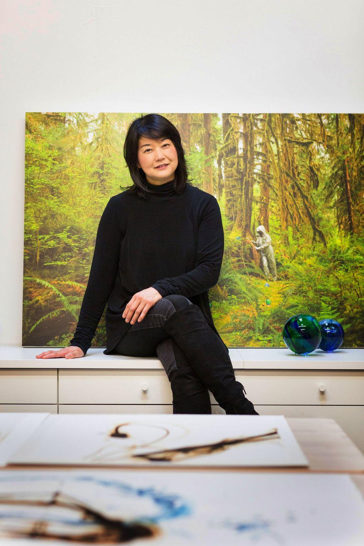 Seattle artist, filmmaker and activist Etsuko Ichikawa. (Lisa Kuhnlein)