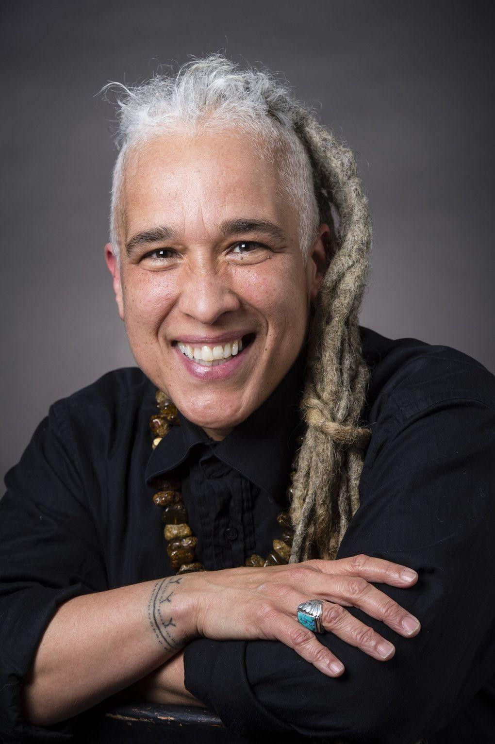 Multitalented artist, educator and writer Storme Webber (Banff Art Center)