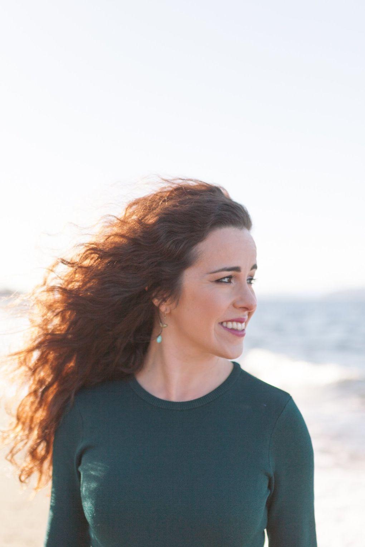 Author, teacher and journalist Kristen Millares Young (Jenn Furber)