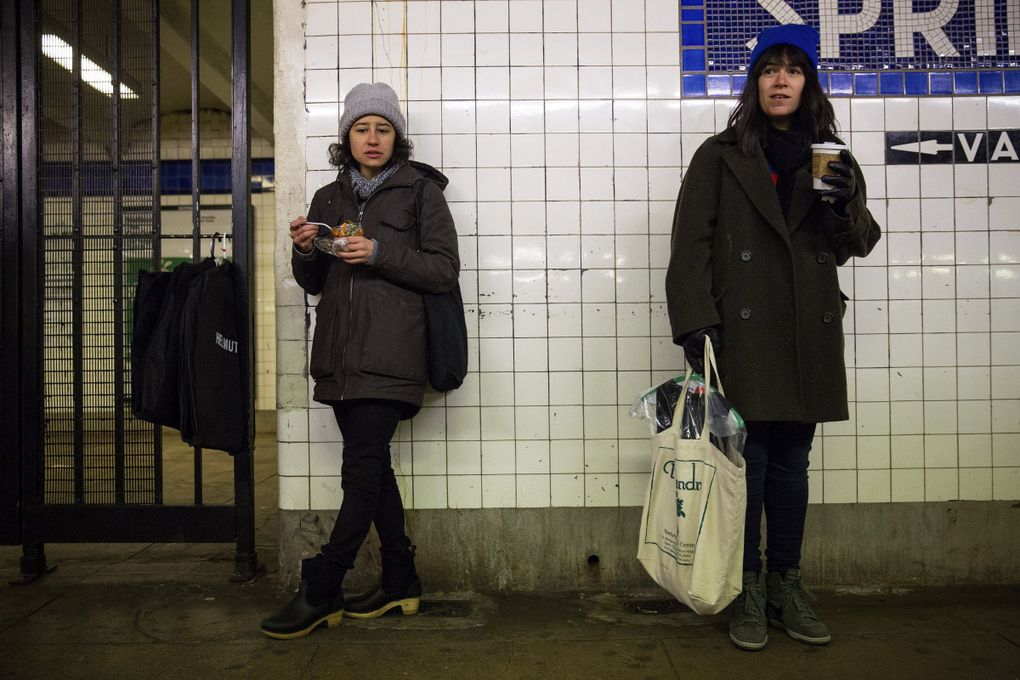 """Ilana Glazer, left, and Abbi Jacobson created and star in """"Broad City,"""" a show about two women scraping by in New York City that is an exaggerated version of their real-life friendship. (Josh Haner / The New York Times, file)"""