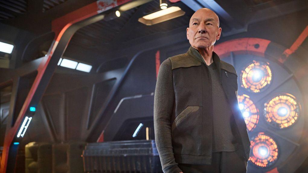 """Patrick Stewart in """"Star Trek: Picard."""" (James Dimmock / CBS)"""