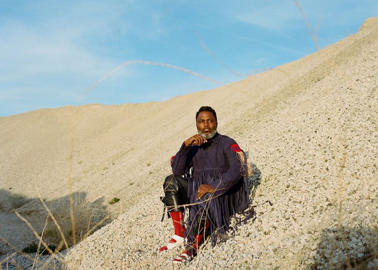"""Ishmael Butler of Seattle alt-rap innovators Shabazz Palaces, which returns with its new album, """"The Don of Diamond Dreams."""" (Patrick O'Brien-Smith)"""