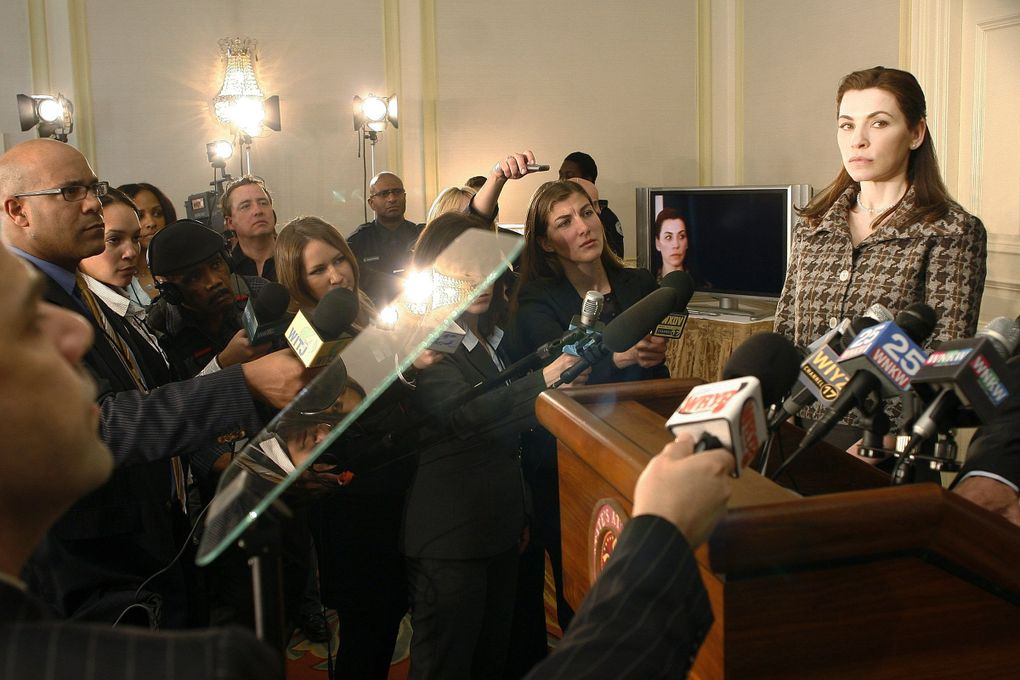 """Julianna Margulies in the first episode of """"The Good Wife."""" (Eike Schroter / CBS)"""